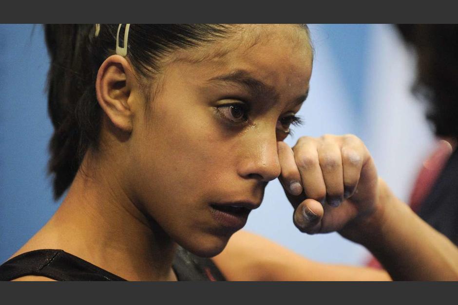 Ana Sofía Gómez espera seguir brillando en el deporte internacional. (Foto: Twitter)