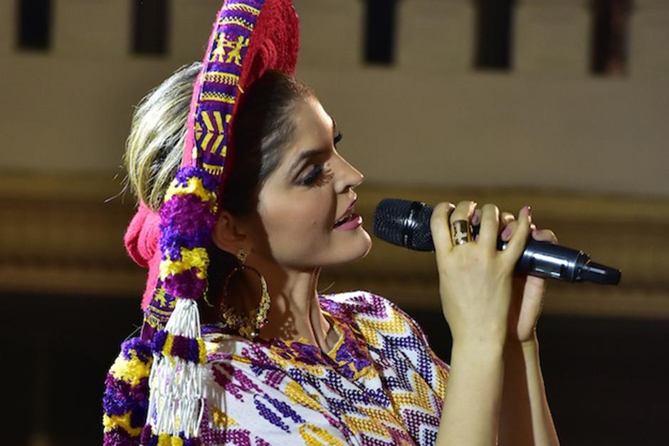 """Es el segundo año consecutivo que Ana Barbara canta """"Las Mañanitas"""" a la Virge de Guadalupe en Guatemala.(Foto: Luis Castillo/Te Cuento)"""