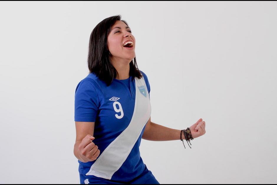 Ana Lucía Martínez es la futbolista guatemalteca más exitosa del momento. (Foto: Archivo/Soy502)