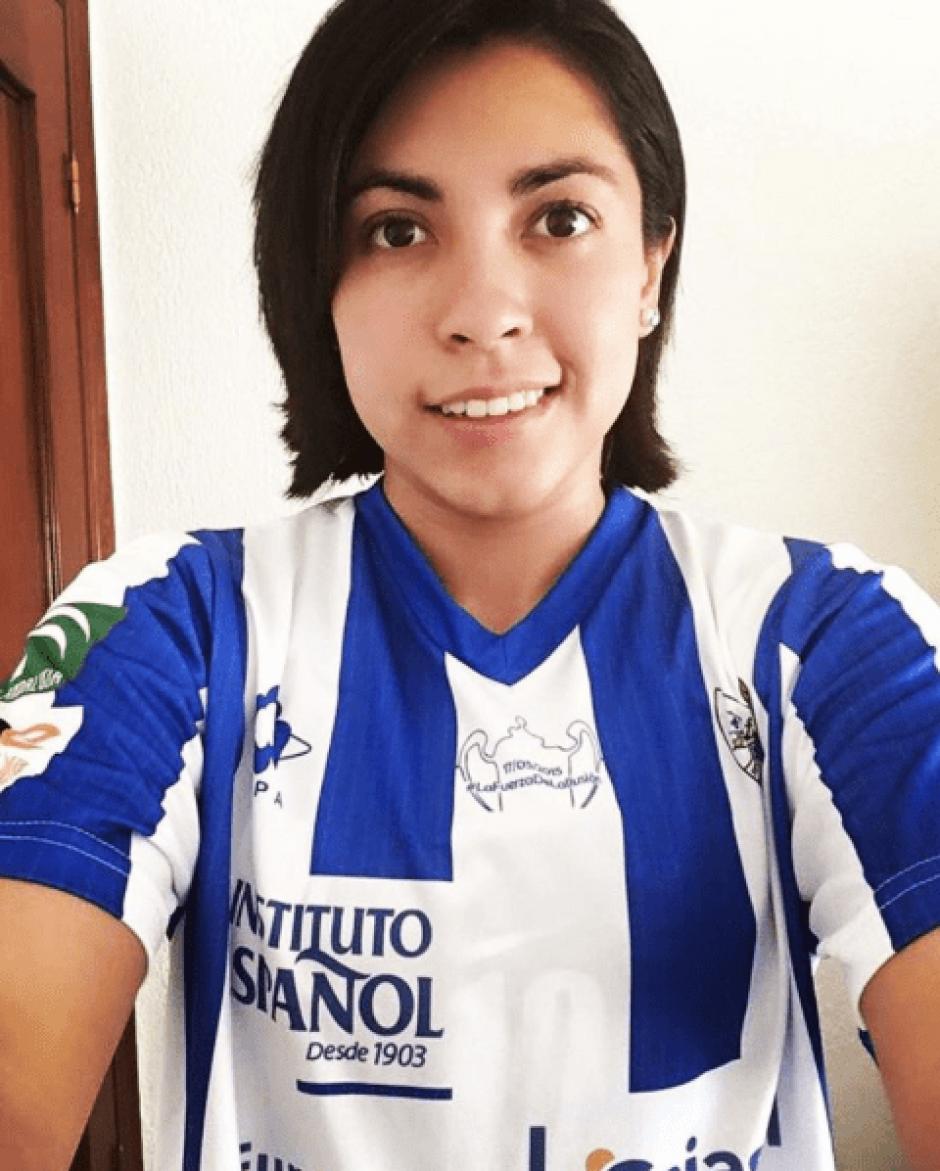 El Sporting Huelva es el segundo equipo de Martínez en España. (Foto: @analu_m/Instagram)