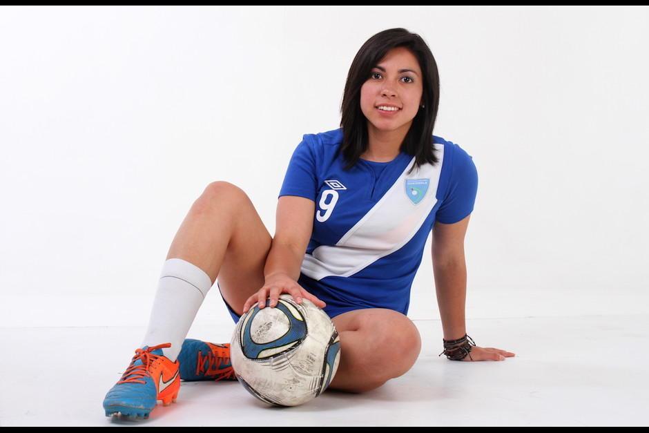 Martínez es una destacada representante del fútbol femenino guatemalteco en el extranjero. (Foto: Archivo/Soy502)