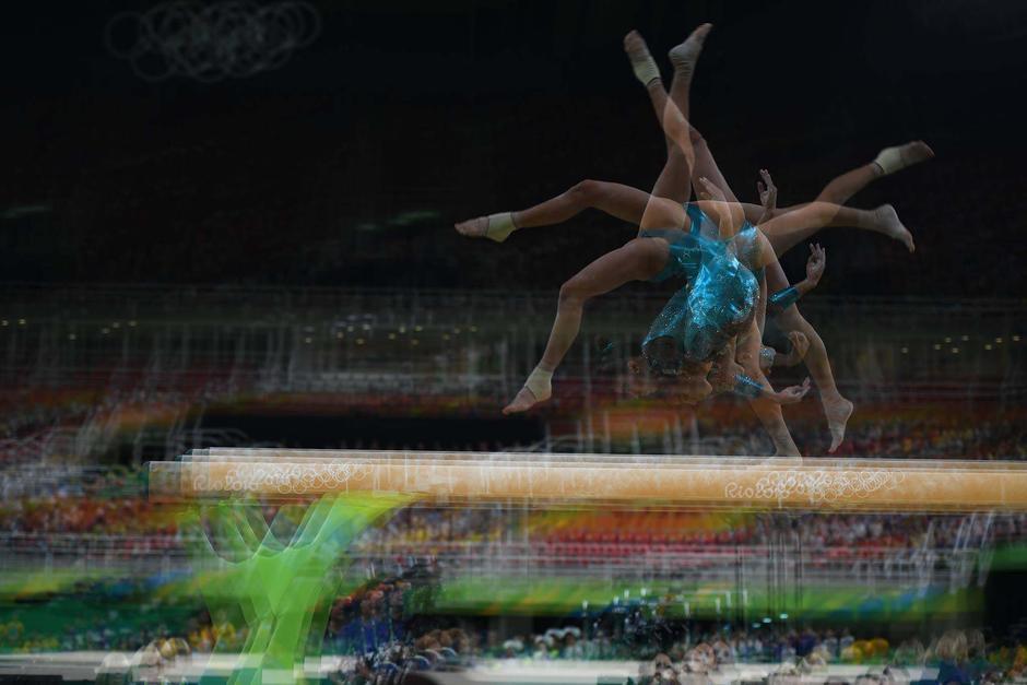 Ana Sofía en los Juegos Olímpicos de Río 2016, en la prueba de todo evento. (Foto: Aldo Martínez/Enviado Nuestro Diario)