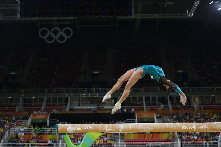 Ana Sofía se quejó del público asistente a la Arena Olímpica. (Foto: Aldo Martínez/Enviado Nuestro Diario)