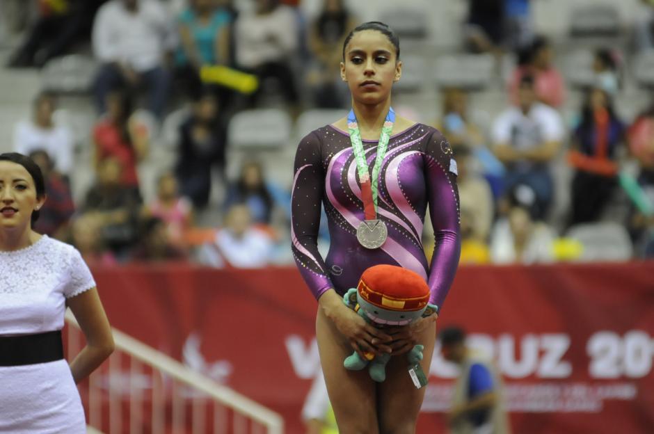 La gimnasta Ana Sofía Gómez ocupa el séptimo lugar y los últimos juegos en los que participó fueron los Olímpicos de 2016. (Foto: Archivo/Soy502)