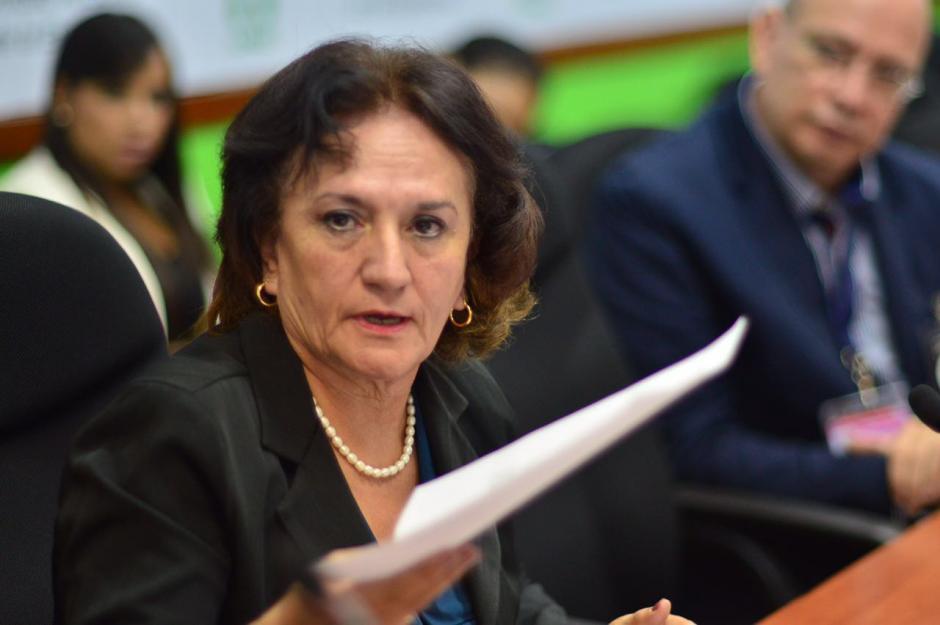 La Procuradora General de la Nación recibió instrucciones de analizar la propuesta de un acuerdo con APM Terminals. (Foto: Jesús Alfonso/Soy502)