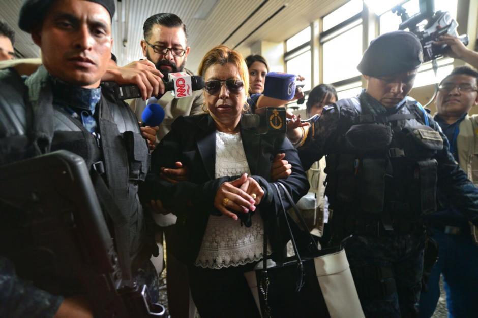 Según ella no cometió ningún acto de corrupción. (Foto: Wilder López/Soy502)
