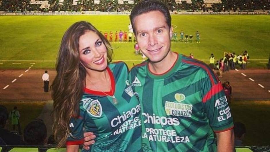 Protagonizó la boda del año en el país al casarse con Manuel Velasco, gobernador de Chiapas. (Foto: Televisa)