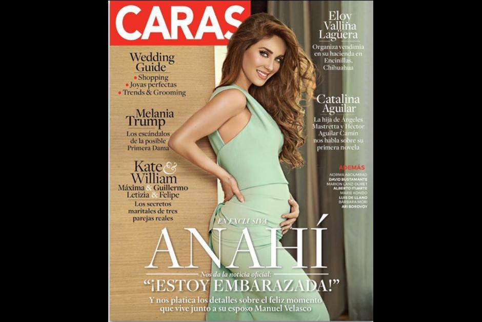 La revista Caras tiene la exclusiva del embarazo de Anahí. (Foto: Intagram)