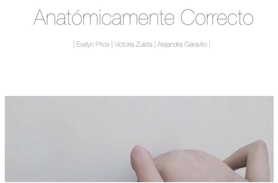 Anatómicamente correcto es la obra experimental de Evelyn Price. (Foto: Selene Mejía/Soy502.com)