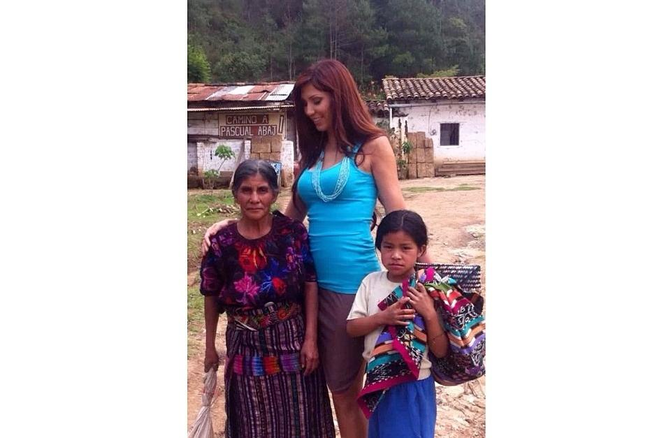 Anett, de 39 años, ha viajado por todo el mundo y Guatemala ha sido uno de sus destinos.