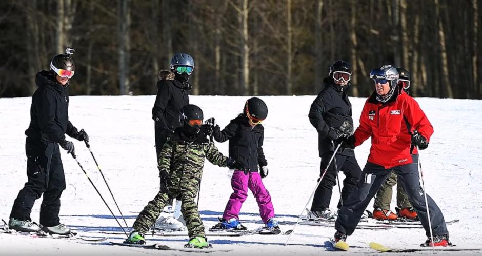 Todos recibieron clases de esquí. (Foto: Cordon Press)