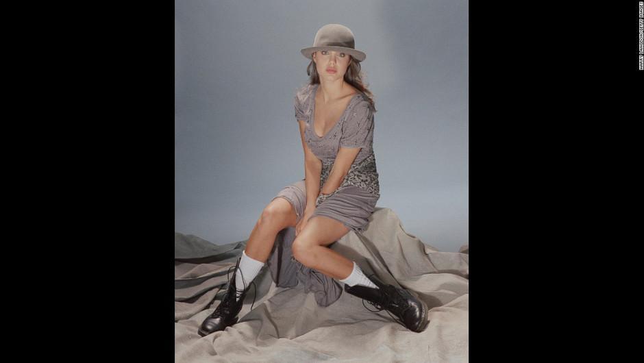 Según Langdon, la ahora actriz posó de forma natural sin necesidad de tantas instrucciones. (Foto: Harry Langdon)