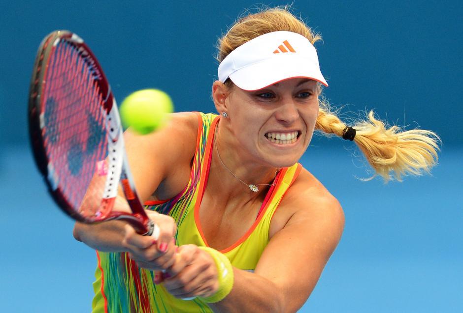 La alemana Angelique Kerber va con paso firme en el Masters femenino de Singapur