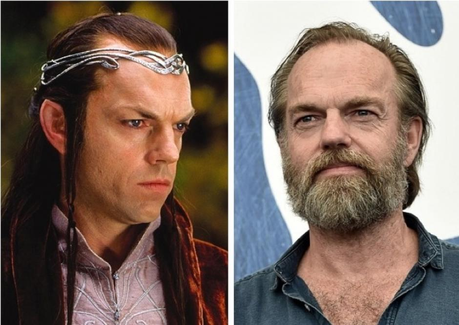 Elrond - Hugo Weaving. (Foto: Warner bros)