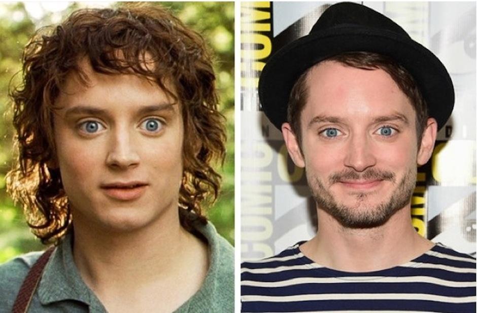 Frodo Bolsón - Elijah Wood. (Foto: Warner bros)