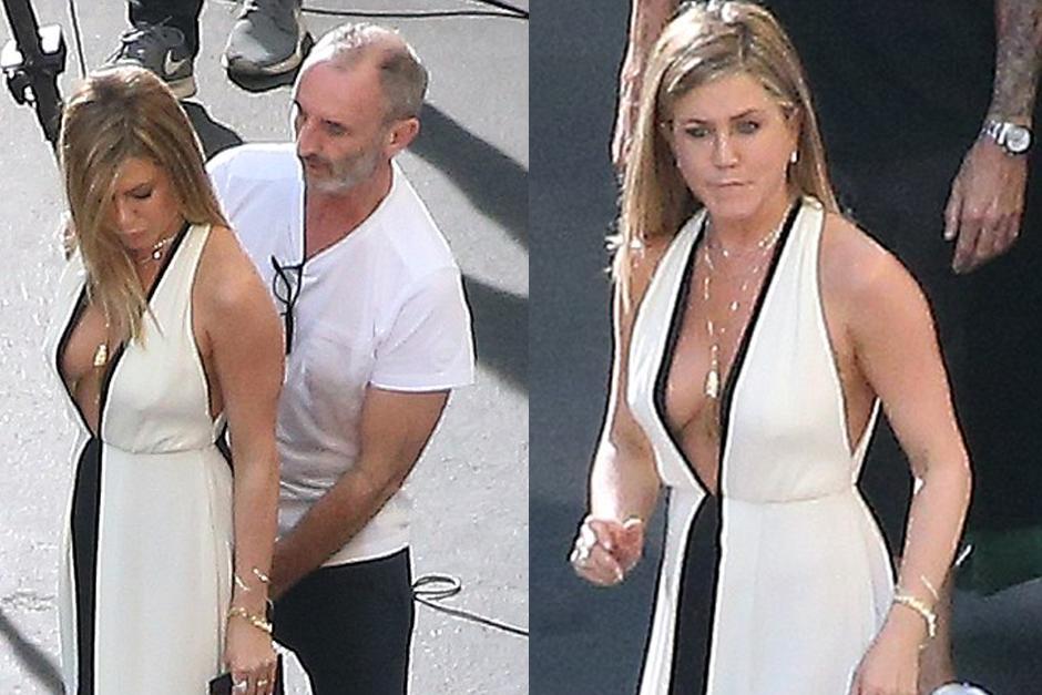 Jennifer Aniston se robó muchas miradas durante un evento. (Foto: dailymail.co.uk)