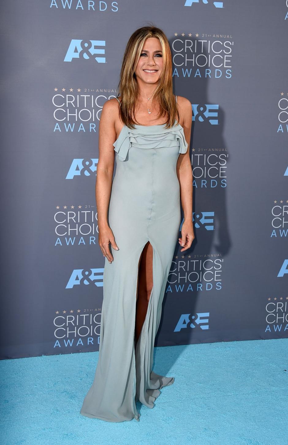 """En la entrevista Aniston habló de las burlas por lo que muchos la llamaban """"trasero de bruja"""". (Foto: celebmafia.com)"""