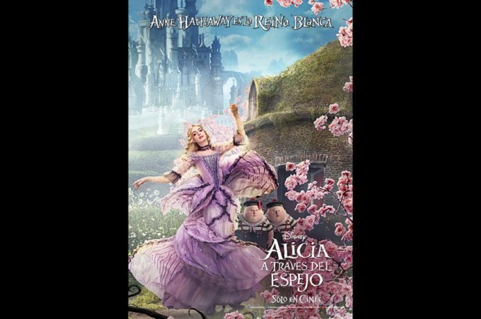 """En """"Alicia a través del espejo"""", Anne Hathaway interpreta a la Reina Blanca. (Foto: AFP/Mark Davis)"""