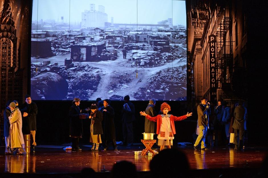 Las clásicas canciones del musical fueron coreadas por los asistentes. (Fot: Esteban Biba/Soy502)