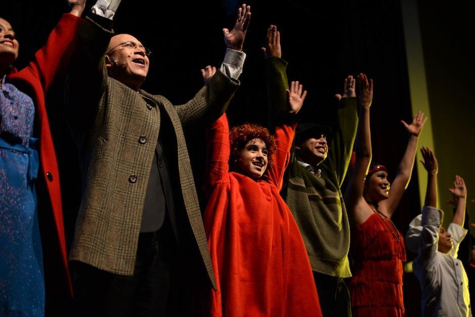 No te pierdas Annie el Musical. (Foto: Esteban Biba/Soy502)