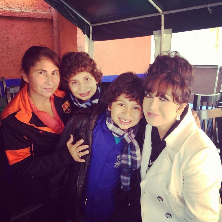 """Su hermano Alberto Audicionó para el reality """"La Voz Kids"""". (Foto: oficial)"""