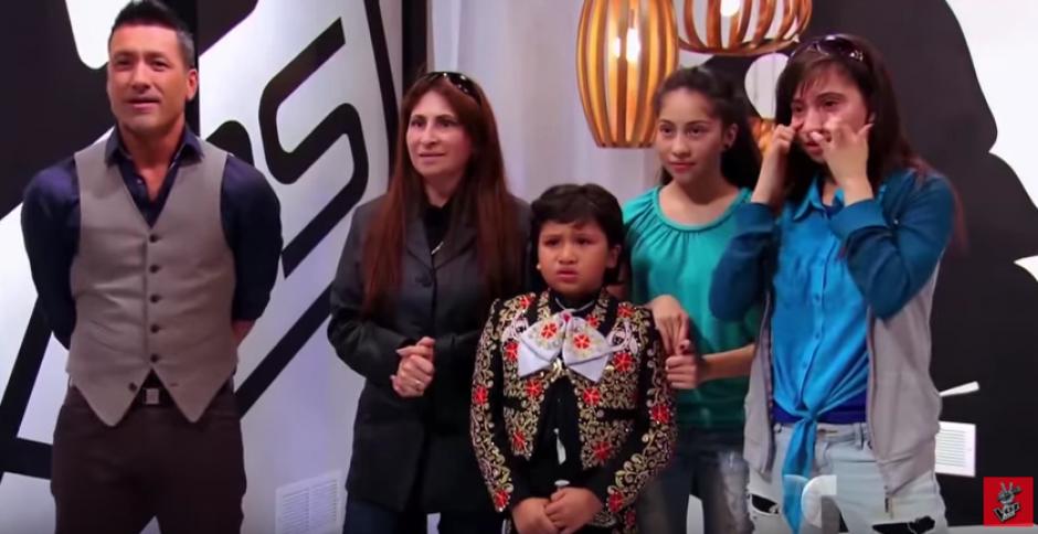 Anthony Gonzalez viene de una familia de artistas. (Foto: La Voz Kids)