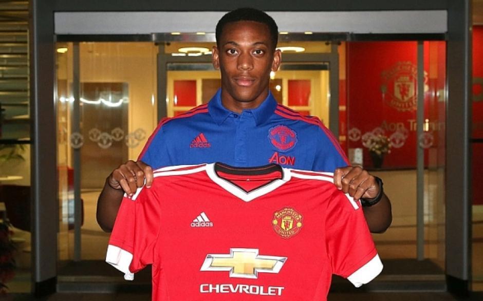 Anthony Martial y el Manchester United son los que más camisetas venden en el mundo. (Foto: Manchester United)