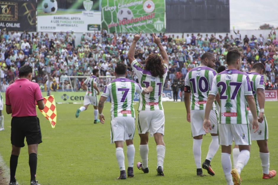 Antigua va por su segunda copa del Torneo Apertura. (Foto: Fredy Hernández/Soy502)