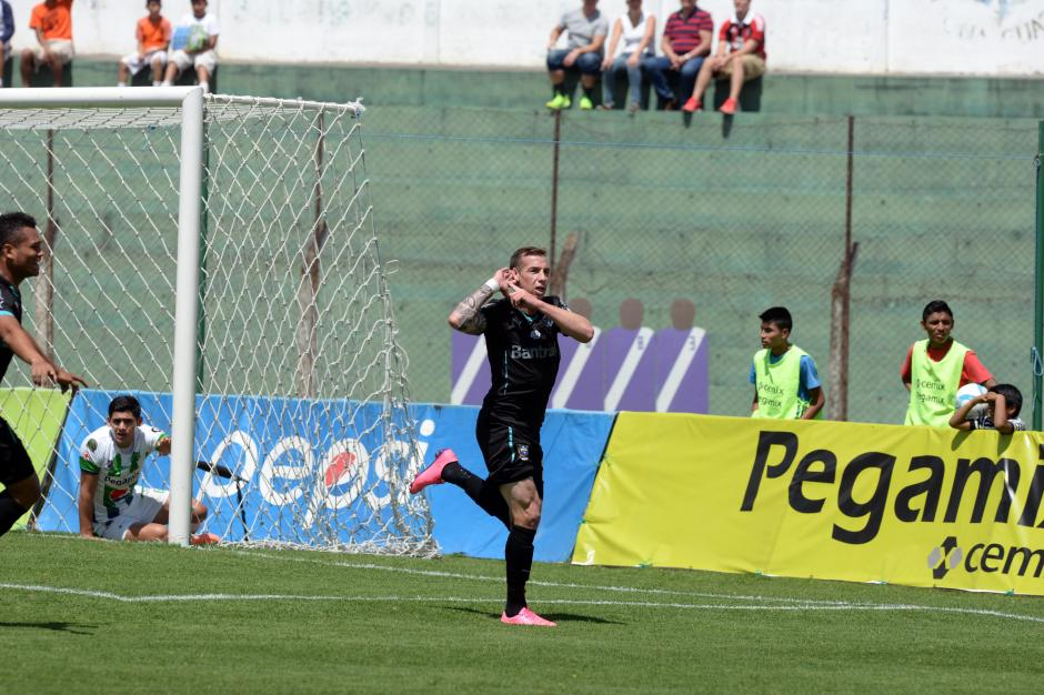 El argentino Emiliano López es uno de los goleadores del torneo con siete tantos en ocho fechas. (Foto: Diego Galiano/Nuestro Diario)