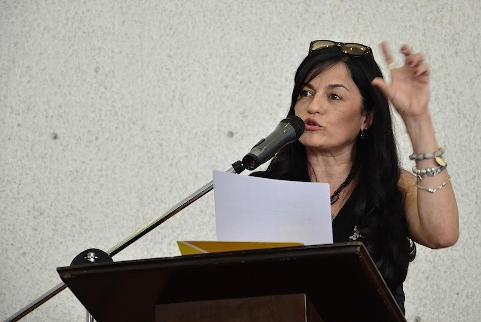 Carolina Escobar Sarti. (Foto: Selene Mejía/Soy502)