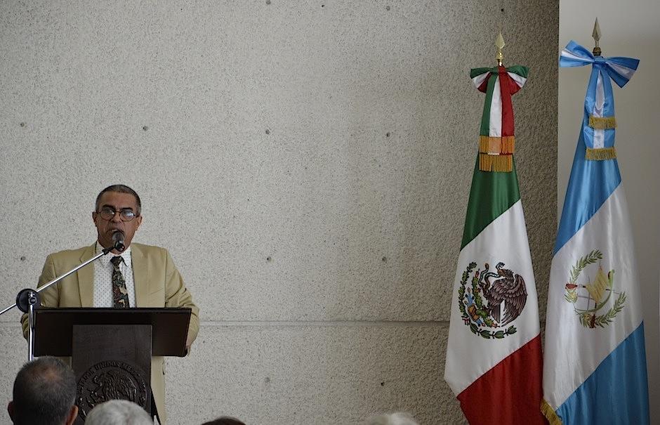 Raúl Figueroa Sarti, presidente de Filgua expresa su emoción por este evento. (Foto: Selene Mejía/Soy502)