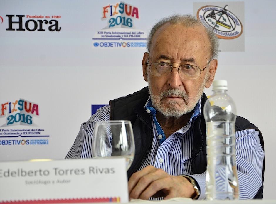Este año Filgua rinde homenaje al sociólogo Edelberto Torres. (Foto: Selene Mejía/Soy502)