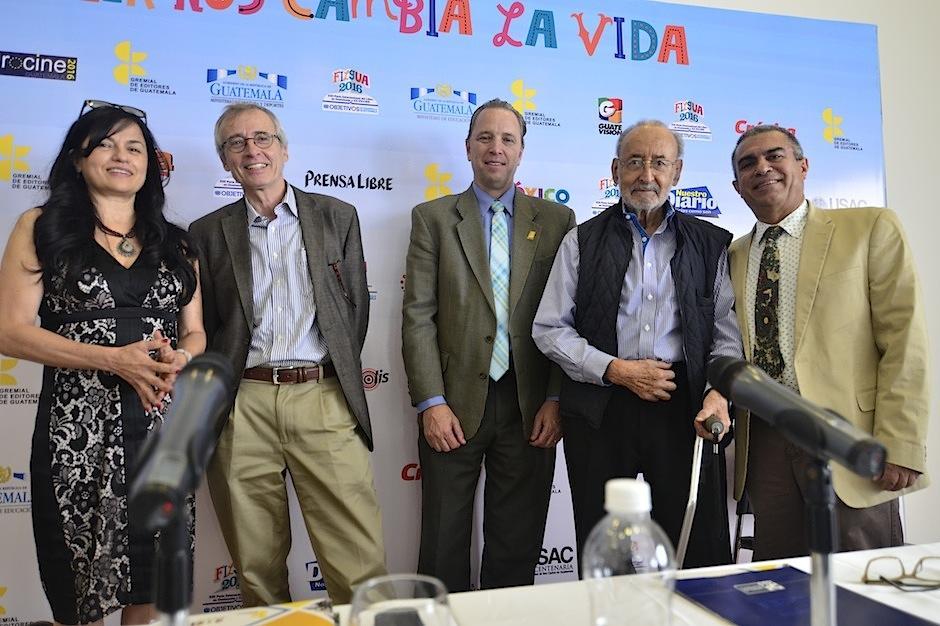 Organizadores anuncian las fechas de Filgua 2016. (Foto: Selene Mejía/Soy502)