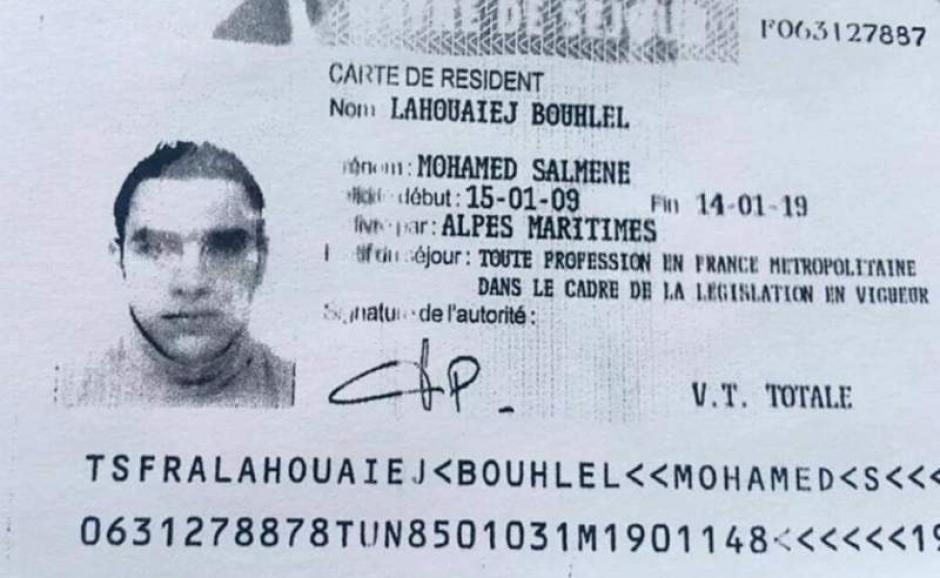 El agresor fue identificado como Mohamed Bouhlel. (Foto: diez.hn)
