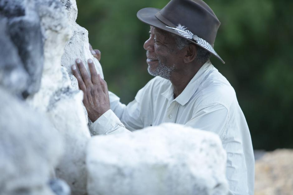El friso de más de 2,000 años de antigüedad muestra la Cosmovisión Maya. (Foto: Cortesía Fox International)