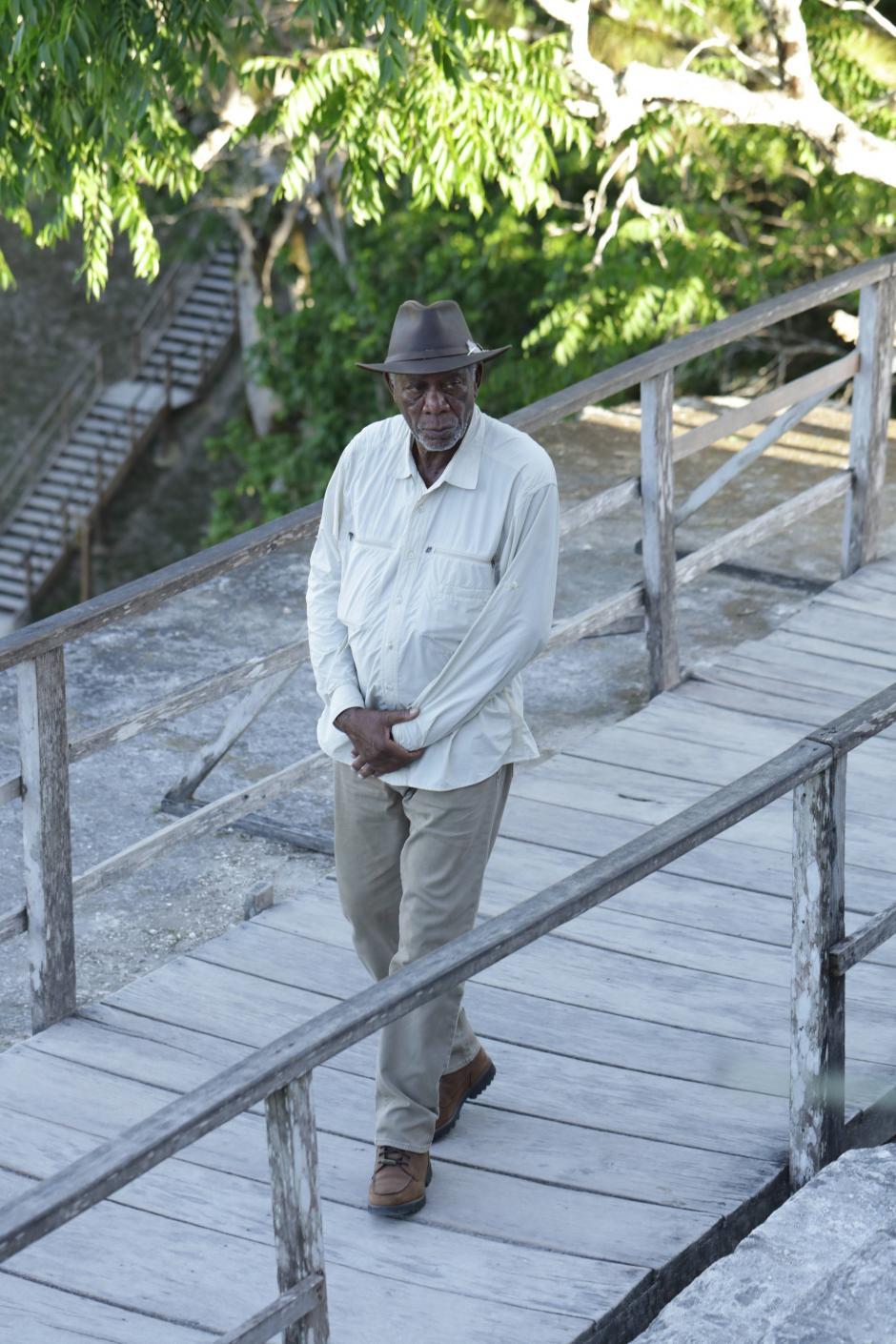 Freeman considera El Mirador como la primera de las ocho maravillas del mundo. (Foto: Cortesía Fox International)