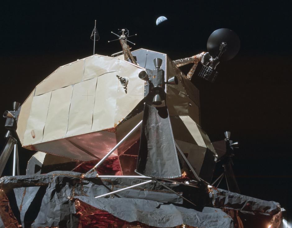 La tierra sobre el Apolo 17. (Foto: Nasa)
