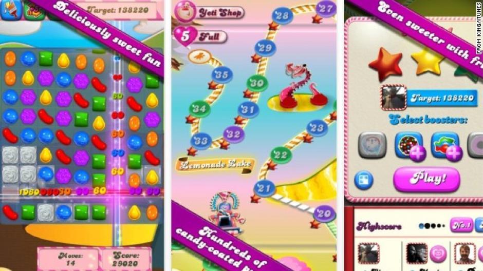 Candy Crush ya alcanzó los dos mil niveles de juego
