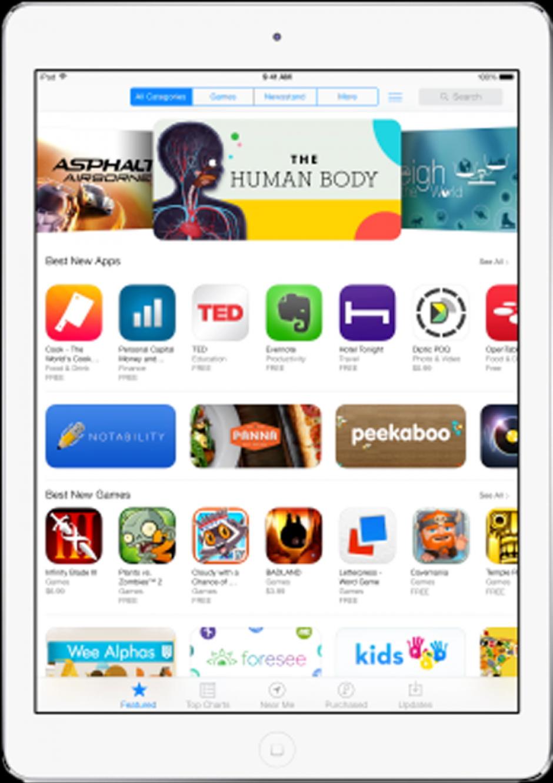 La tableta de Apple, Ipad Air, fue premiada como la mejor tableta durante el WMC (Foto: Apple)