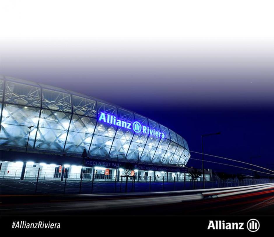 El estadio está ubicado en la Riviera Francesa. (Foto: Facebook/Allianz Riviera)