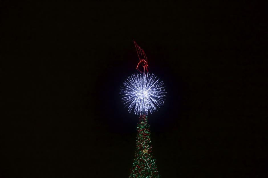 Este fue el trigésimo show navideño que patrocina Cerveza Gallo. (Foto: George Rojas/Soy502)