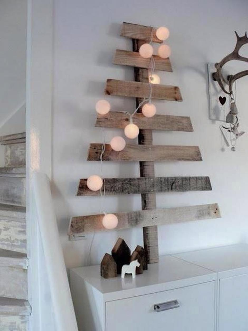 la madera agrega un toque minimalista a tu hogar. (Foto: Pinterest)