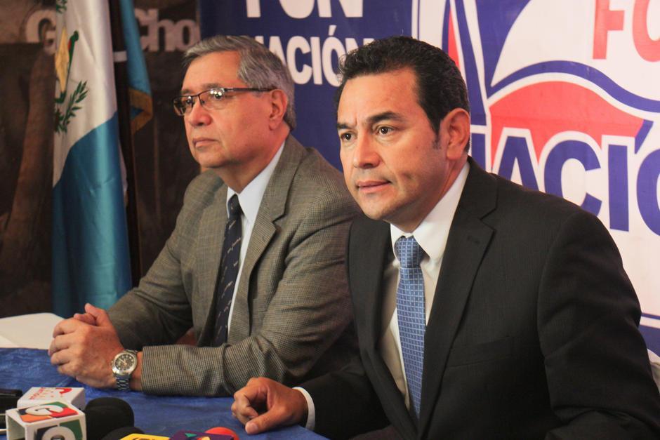 El presidente Jimmy Morales mencionó a su hermano y su hijo a través de un video difundido en el twitter del gobierno. (Foto: Archivo/Soy502)