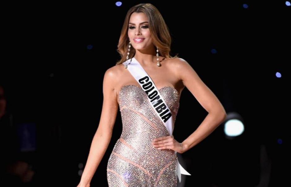 Durante la competición del domingo pasado, Ariadna Gutiérrez fue la única latinoamericana entre las tres finalistas de Miss Universo.