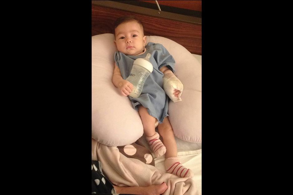 Hace 25 días que la salud de la pequeña Arianna ha desmejorado. (Foto: Archivo)