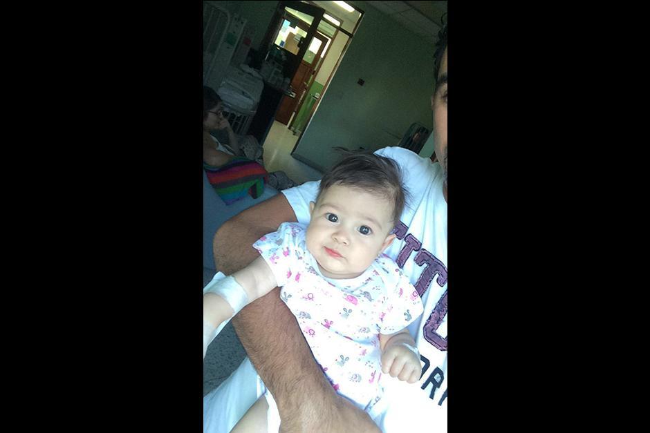 La pequeña Arianna aún no cuenta con un diagnóstico de su enfermedad. (Foto: Archivo)