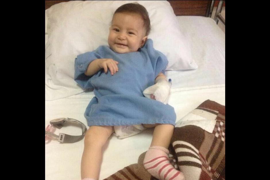 Arianna cumplirá 4 meses el 9 de septiembre. (Foto: Archivo)