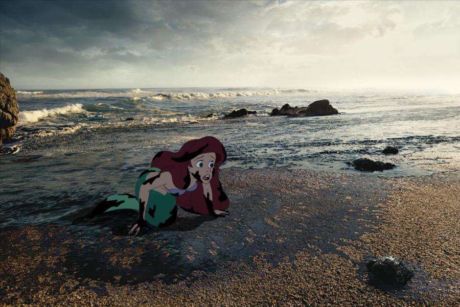 El hogar de Ariel estuviera totalmente contaminado. (Imagen: disneyunhappilyeverafter)