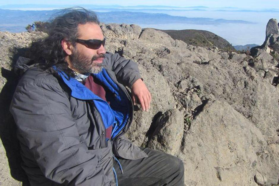 El montañista Ariel Rodríguez se perdió en el volcán Tajumulco el domingo recién pasado. (Foto: Facebook/Ariel Rodríguez)