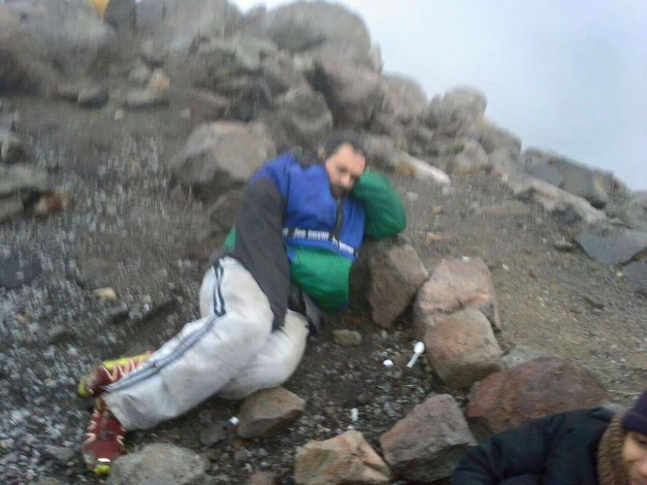 Los cuerpos de socorro y montañistas voluntarios ya buscan a Ariel Rodríguez. (Foto: Facebook/ Guate Tour)